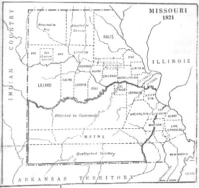 Maps Cole County Mo GenWebsite - County map of missouri