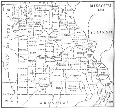 Maps Cole County Mo GenWebsite - Missouri county map